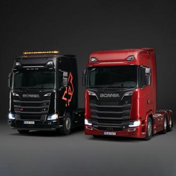 cabina Scania V8